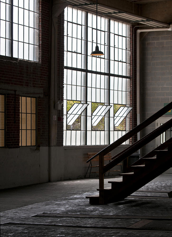 Warehouse Photograph - Old Warehouse by Wilma  Birdwell