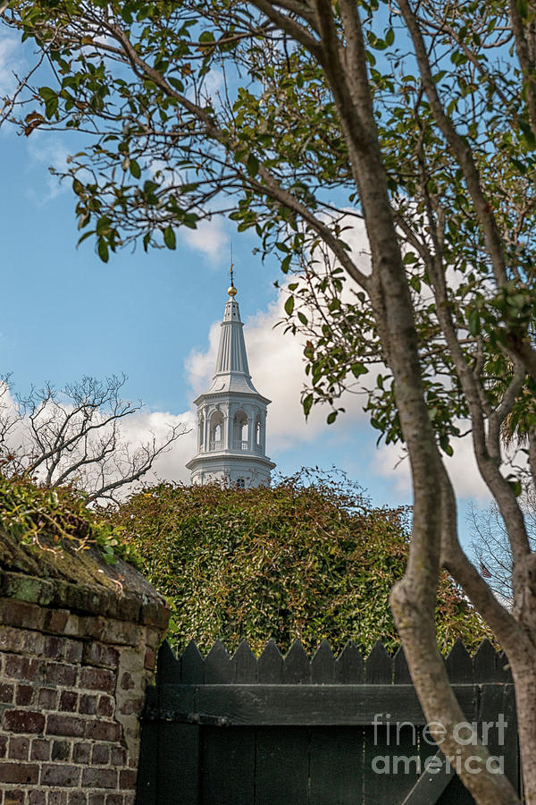 Oldest Church In Charleston Photograph