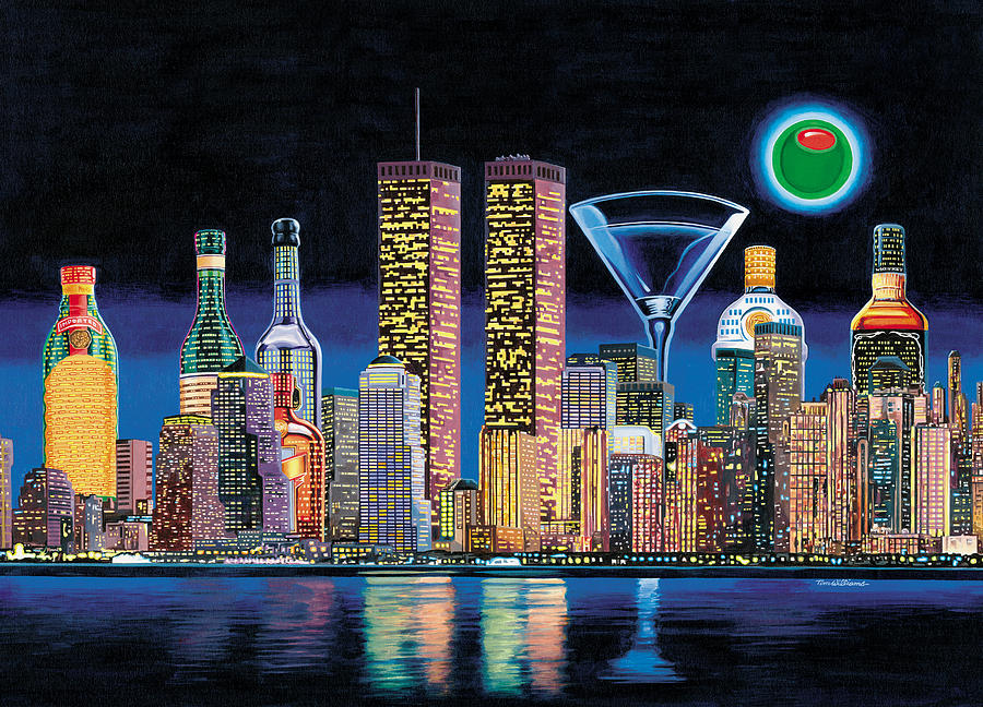 New York Painting - Olive Ny by Tim Williams