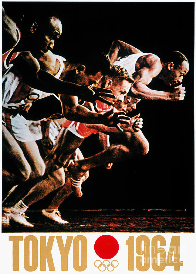 1964 Photograph - Olympic Games, 1964 by Granger