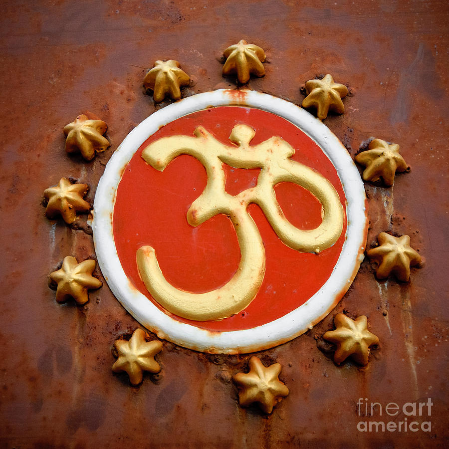 Om Photograph - Om by Dev Gogoi