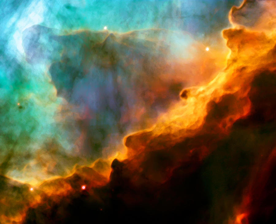Nebula Photograph - Omega Swan Nebula 3 by The  Vault - Jennifer Rondinelli Reilly