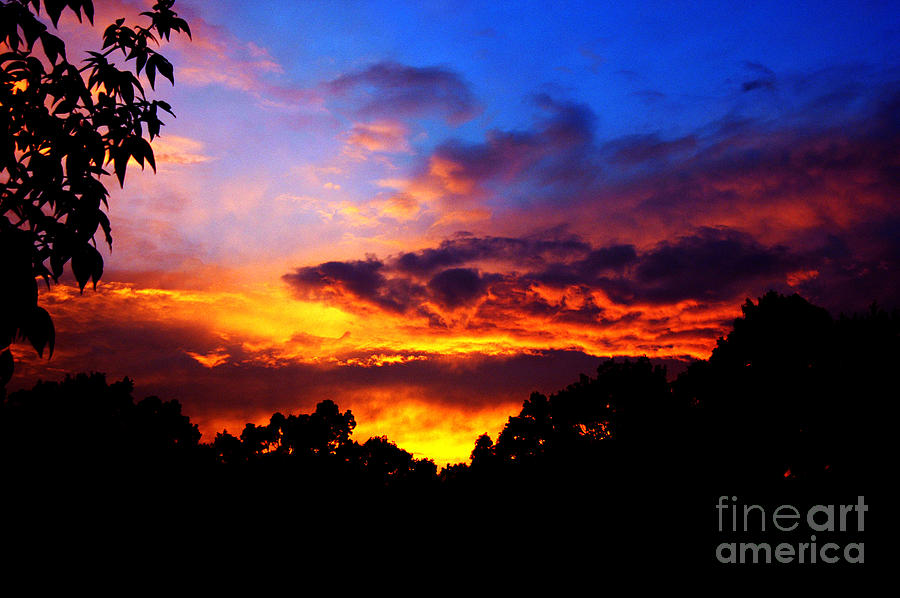 Clay Photograph - Ominous Sunset by Clayton Bruster