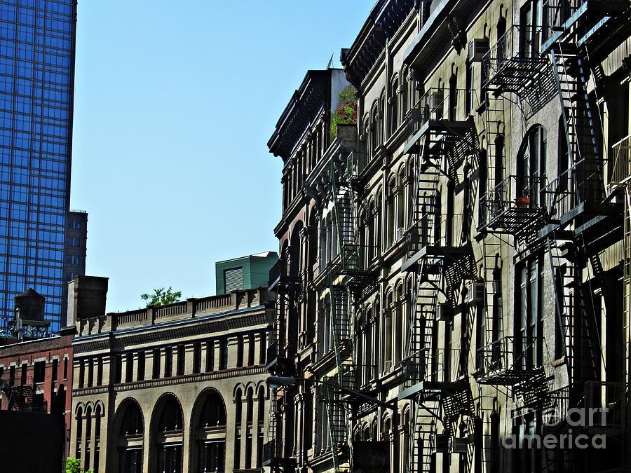 On Franklin Street Photograph - On Franklin Street by Sarah Loft