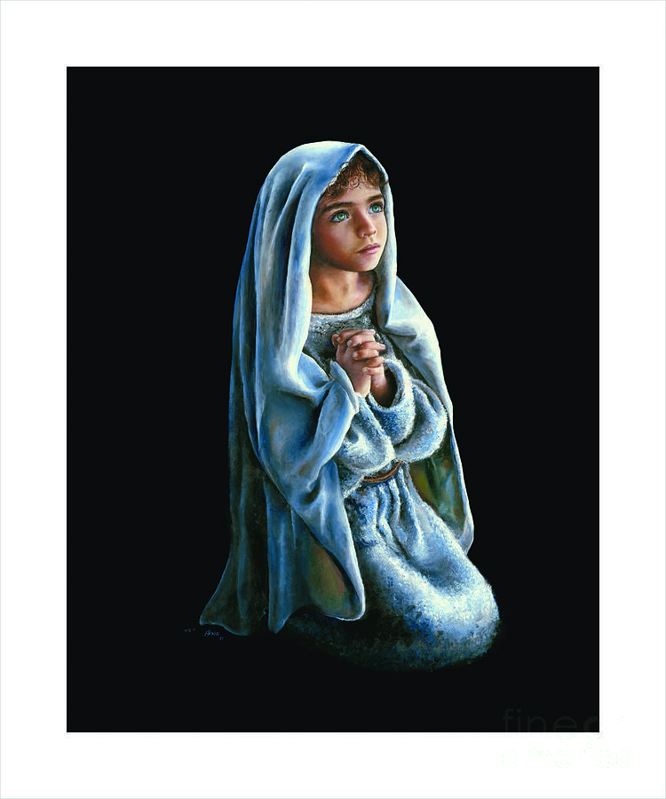 Painting Of Mary Jesus Russian Artist