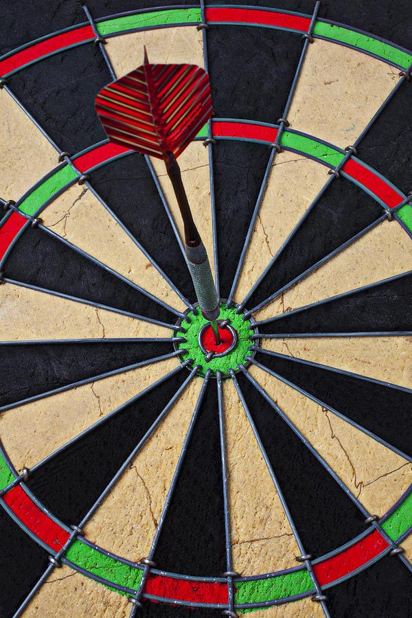 Bullseye Photograph - On Target Bullseye by Garry Gay
