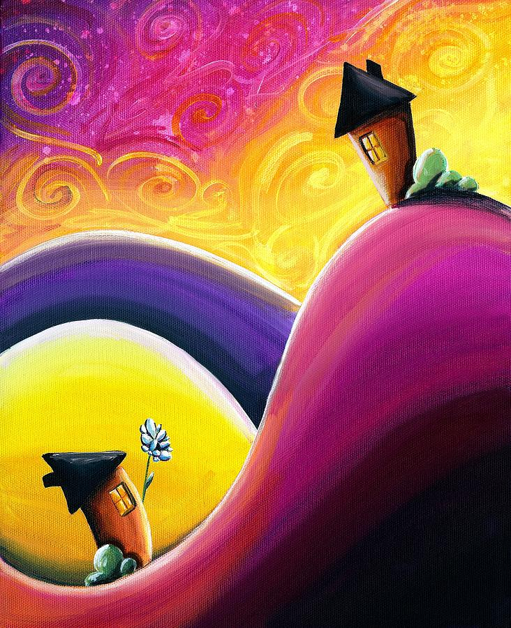 Pink Painting - One Song by Cindy Thornton