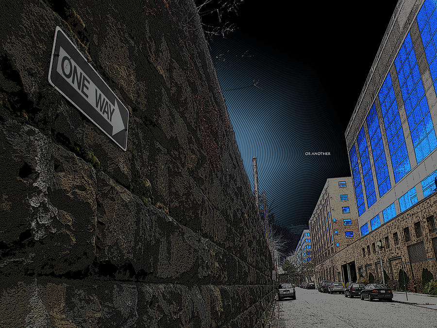 One Way Or Another Photograph - One Way Or Another by Joe Hickson