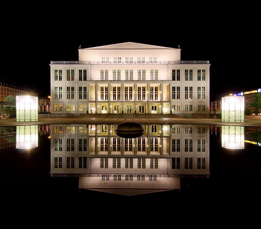 Opera Photograph - Opera - Leipzig by Marc Huebner