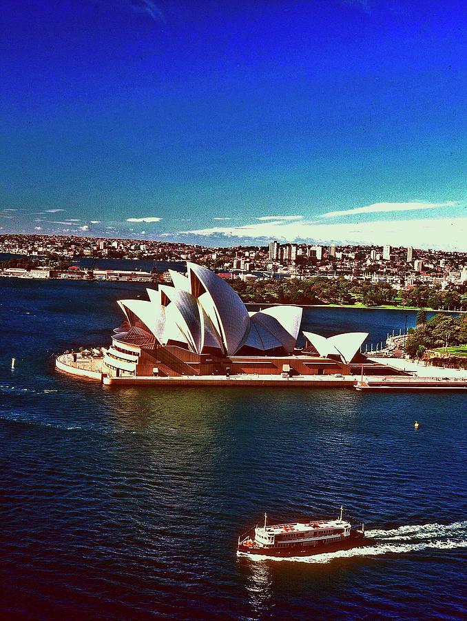 Opera House Photograph - Opera House Sydney Austalia by Gary Wonning