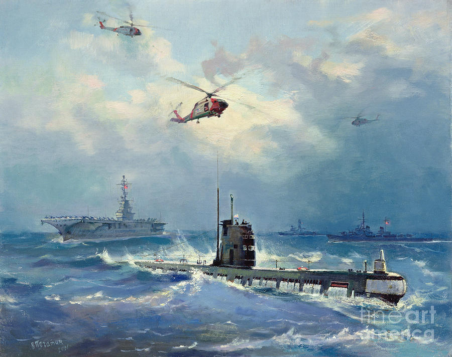 Operation Painting - Operation Kama by Valentin Alexandrovich Pechatin