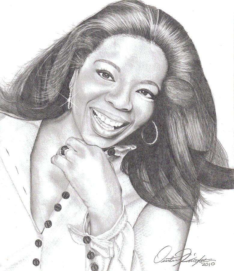 Oprah Drawing