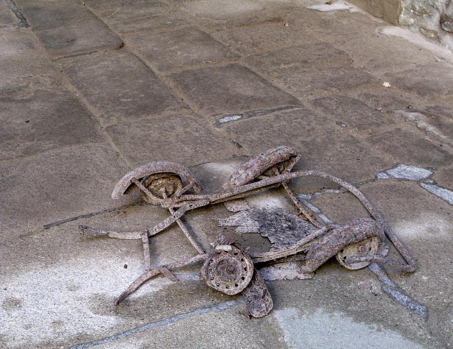Oradour Sur Glane Pedal Car 002 Photograph