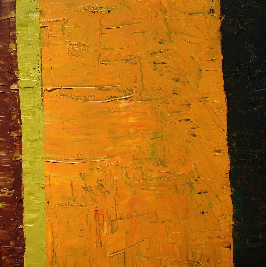 Orange And Brown Painting