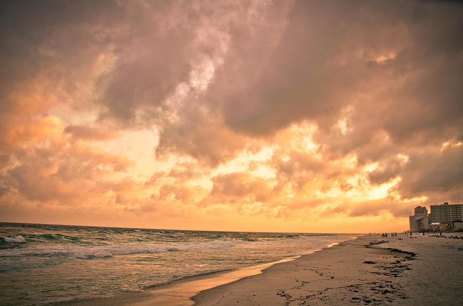 Beach Photograph - Orange Beach by Victoria Lawrence