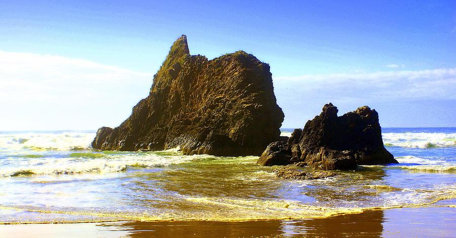 Ocean Photograph - Oregon Coast 13 by Marty Koch