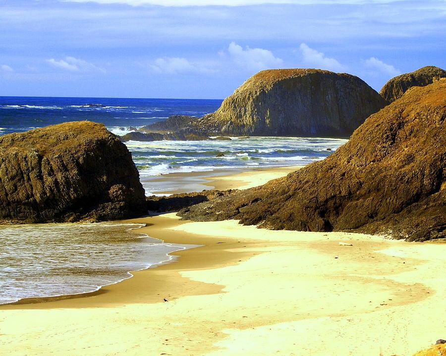 Ocean Photograph - Oregon Coast 18 by Marty Koch