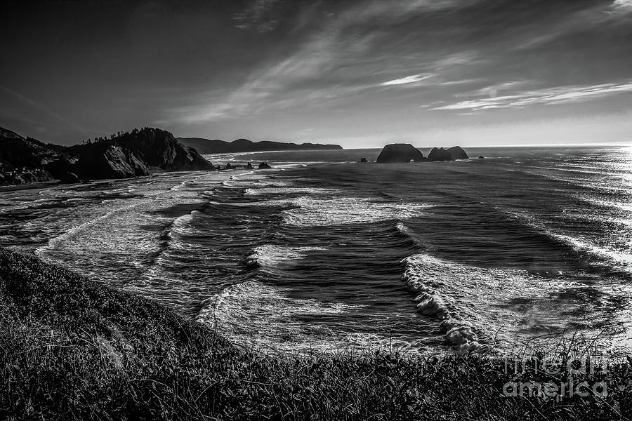 Oregon Photograph - Oregon Coast At Sunset by Jon Burch Photography