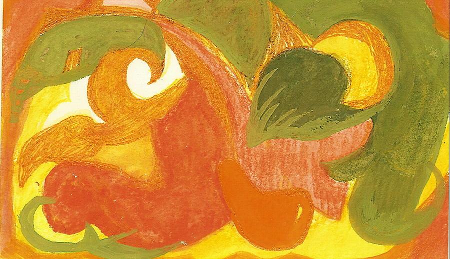 Organic Conversation Painting