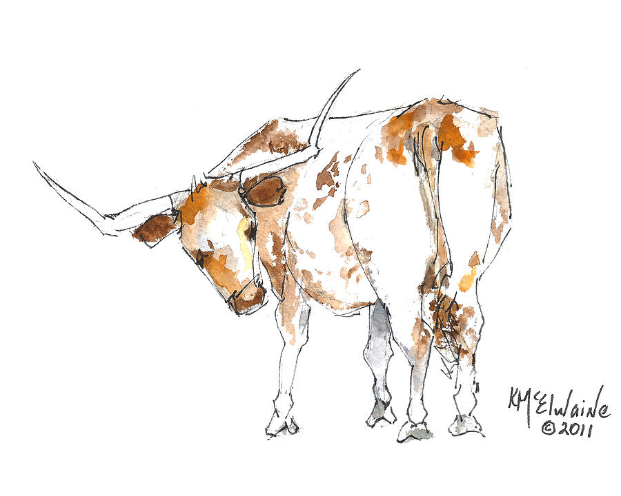 Original Texas Whimsey Painting