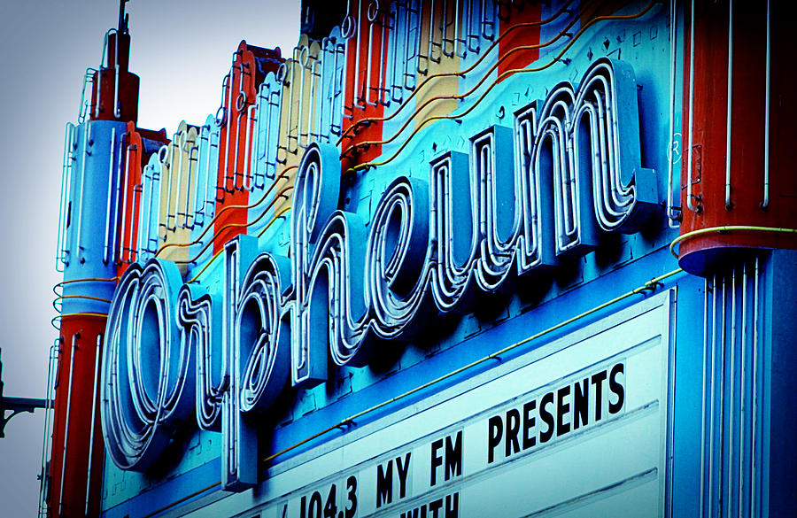 Los Angeles Photograph - Orpheum Theater by Ariane Moshayedi