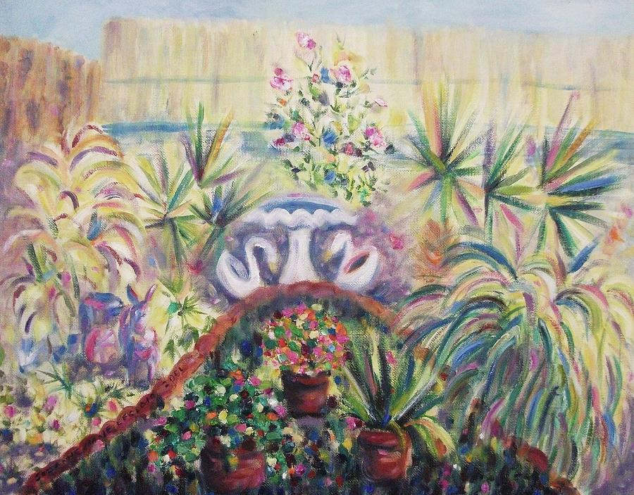 Our Private Yard Painting
