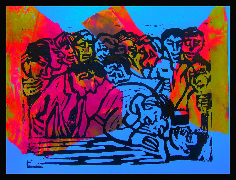 Out Cold - Blue Digital Art