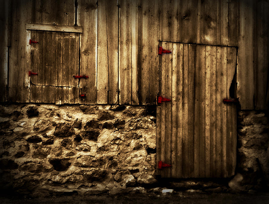 Barn Digital Art - Out Of Place 2 by Julie Hamilton