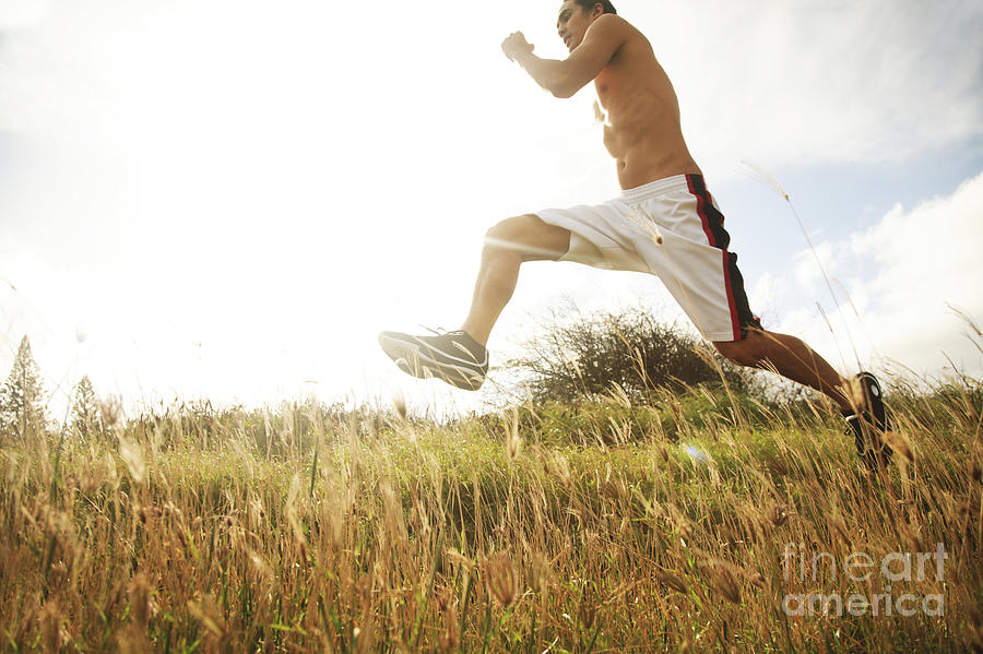 Athlete Photograph - Outdoor Jogging IIi by Brandon Tabiolo - Printscapes