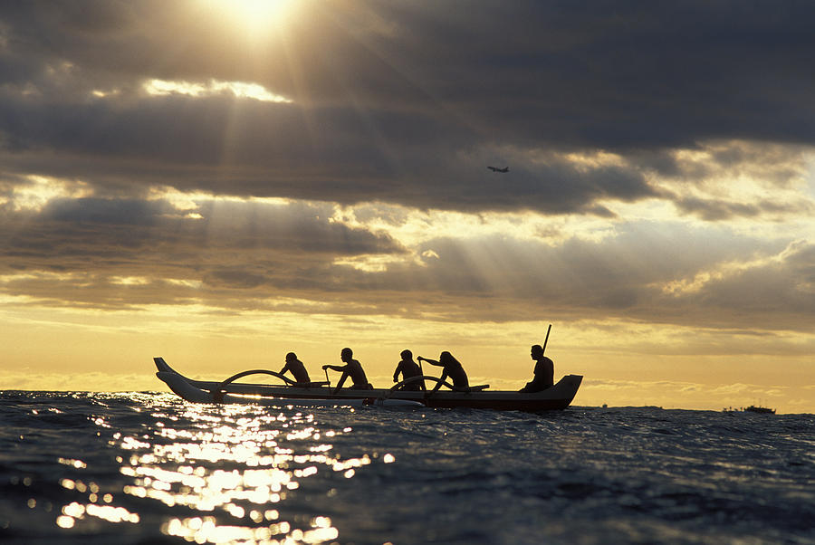 Beam Photograph - Outrigger Canoe by Vince Cavataio - Printscapes