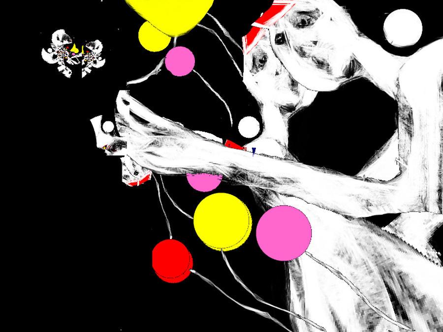 Digital Art - Outside Oneself by Ruth Clotworthy
