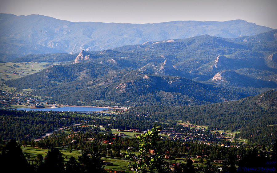 Estes Park Photograph - Over Estes by Aaron Burrows