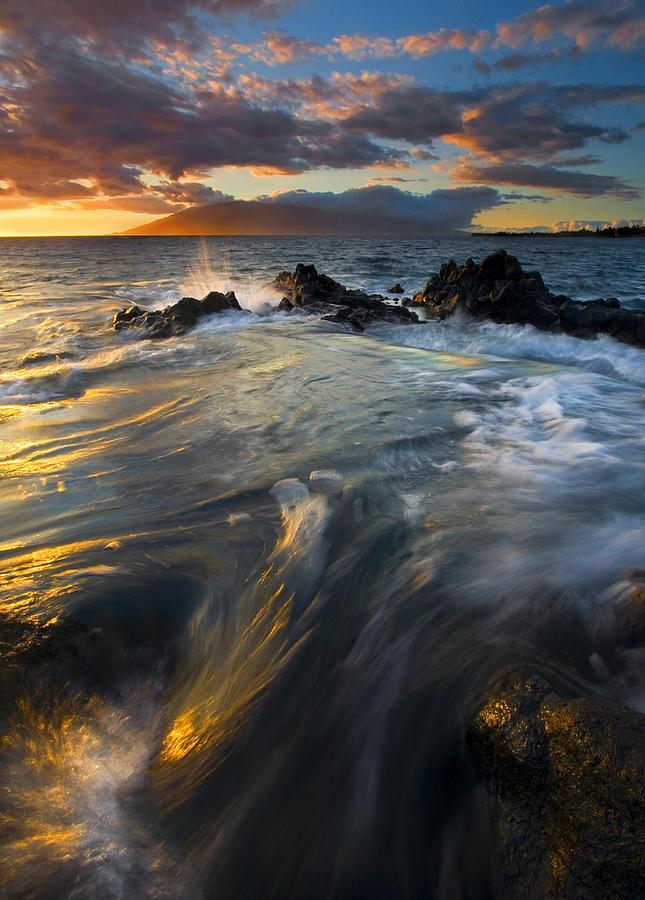 Cauldron Photograph - Overflow by Mike  Dawson