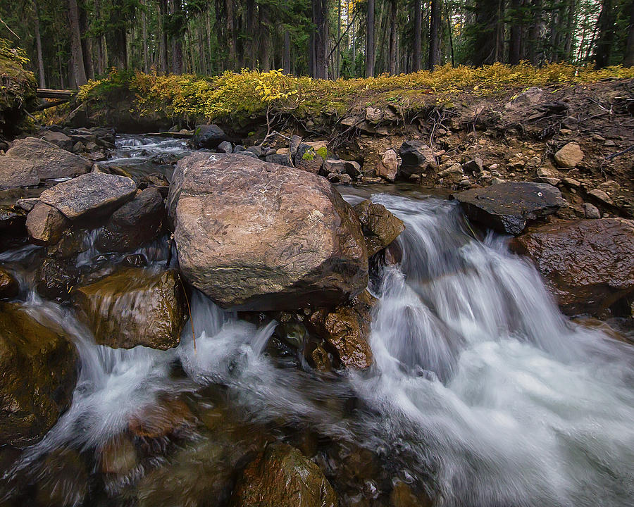Owl Creek Cascades Photograph By Jennifer Grover