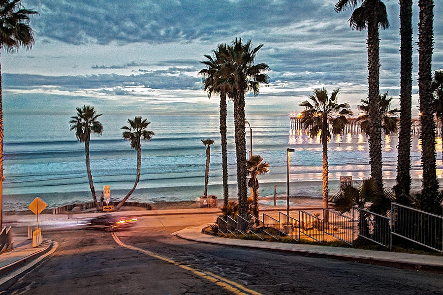 Oceanside Photograph - Pacific And 1st Street by Ann Patterson