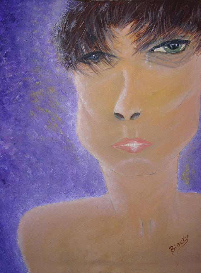 Transexual Painting - Painful Life by Donna Blackhall