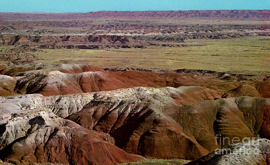 Painted Desert In Arizona Photograph