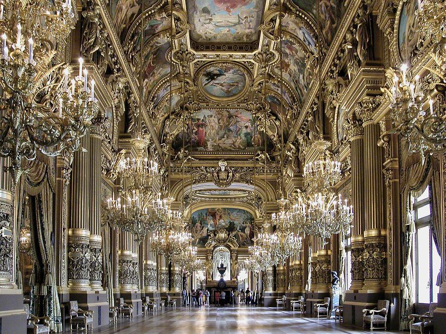 Grand Foyer Images : Palais garnier grand foyer photograph by alan toepfer