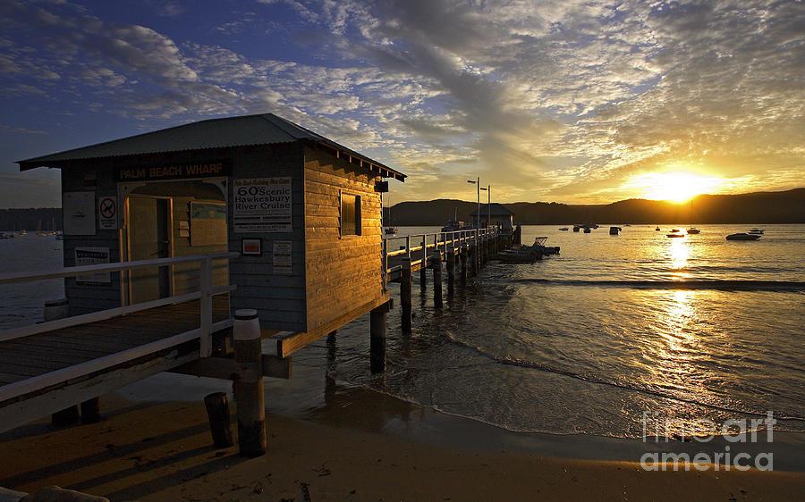 Palm Beach Sydney Australia Sunset Water Pittwater Photograph - Palm Beach Sunset by Avalon Fine Art Photography