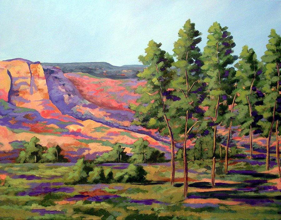 Palo Duro Cottonwood Painting