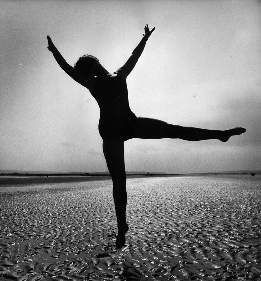Mid Adult Photograph - Pamela Dancing by John Chilingworth
