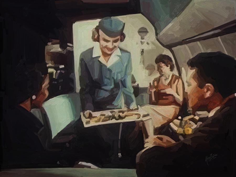 Pan American Airways Fa Painting