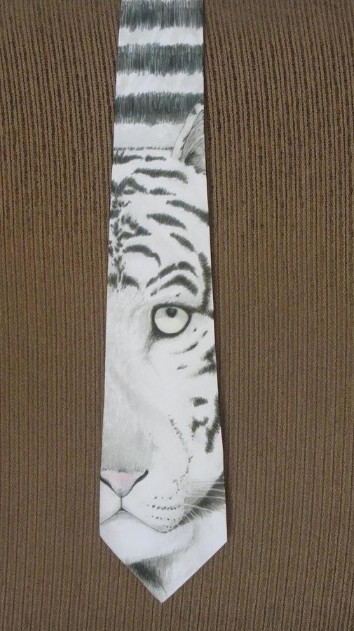 Tiger Painting - Panthera Tigris by David Kelly