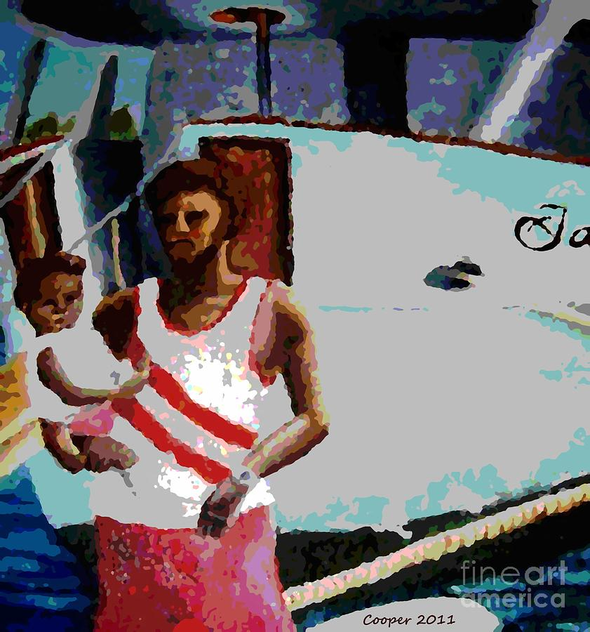 Antigua Painting - Papa by LaShanna  Cooper