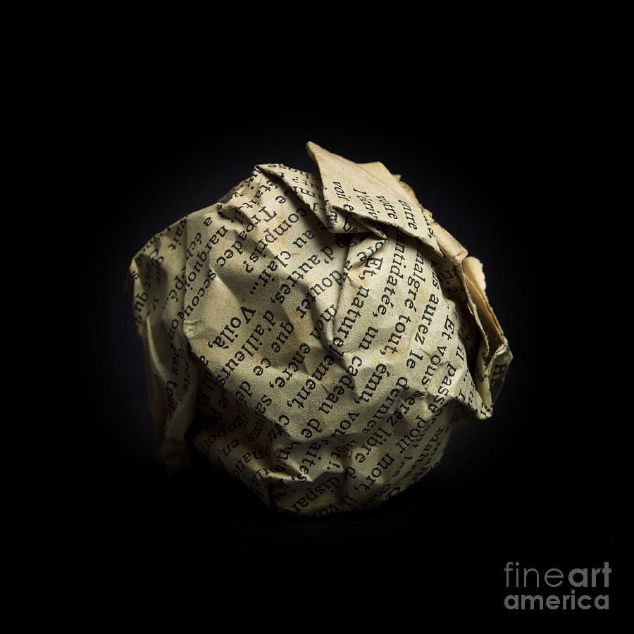 Ball Photograph - Paper by Bernard Jaubert