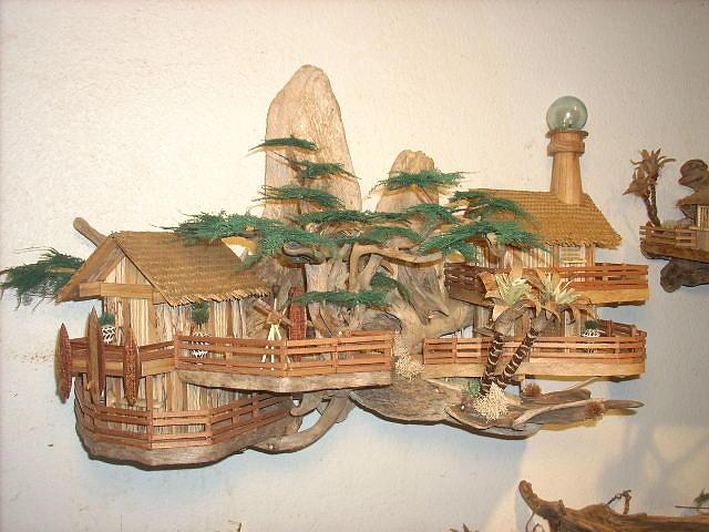 Eco Art Sculpture Sculpture - Paradise Light House by David Cole