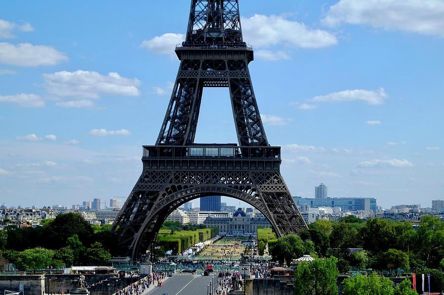 Paris Eiffel Way Photograph