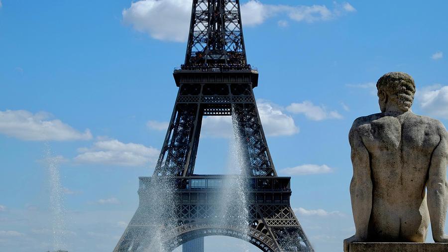 Paris Sketch Photograph