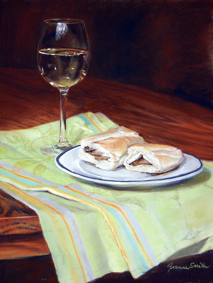 Realist Painting - Parisian Lunch by Jeanne Rosier Smith