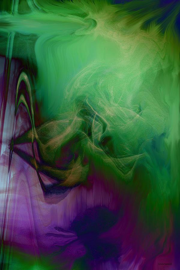 Rapture Digital Art - Part Of Rapture by Linda Sannuti